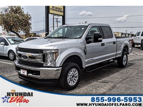 Pre-Owned 2019 Ford F-350SD XLT 4WD 4D Crew Cab