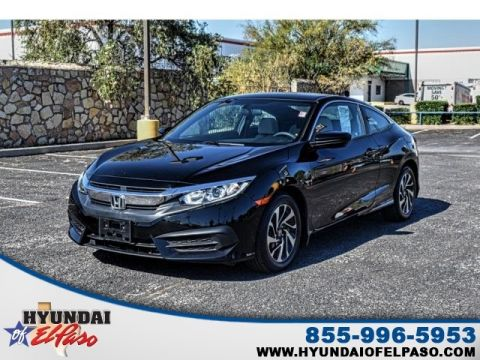 Pre-Owned 2017 Honda Civic LX FWD 2D Coupe