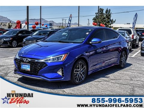 Certified Pre-Owned 2019 Hyundai Elantra Sport FWD 4D Sedan